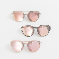 Rae Mirrored Sunglasses