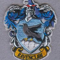 Harry Potter Ravenclaw Iron On Embroidered Patch