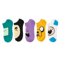 Adventure Time Cosplay No-Show Socks 5 Pair