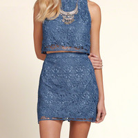 Chemical Lace Crop Top