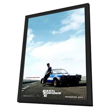 Fast & Furious 6 11x17 Framed Movie Poster (2013)