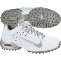 Nike Women's Air SpeedLax 4 Turf Lacrosse Cleat - White/Silver   DICK'S Sporting Goods