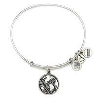 Alex and Ani Make Your Mark Charm Bangle - Russian Silver