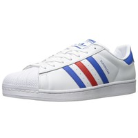 Adidas Superstar Footwear White/Off White Mens Casual Lace Up Trainers