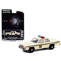 """1983 Ford LTD Crown Victoria Cream \Ardis MD Police\"""" \""""The X-Files\"""" (1993-2002) TV Series \""""Hollywood Series\"""" Release 30 1/64 Diecast Model Car by Greenlight"""""""