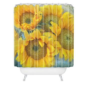 Lisa Argyropoulos Sunny Disposition Shower Curtain