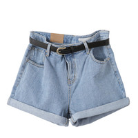 Denim shorts - Nicki - Shorts - Pants & Shorts - Women - Modekungen - Fashion Online | Clothing, Shoes & Accessories
