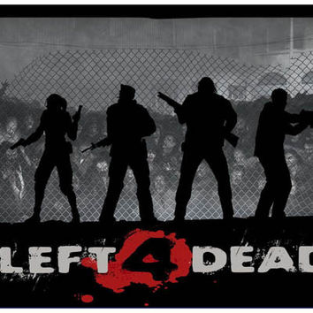 Left 4 Dead Video Game Poster 11x17