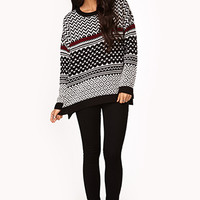 Zigzag Sweater