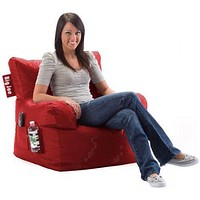Kids, Children, Toddlers Teens Bean Bag Chair with Drink Holder Pocket