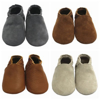 Sayoyo Brand New Baby Shoes Branded Soft Soled Leather Infant Toddler Girl Shoes Boy Children Shoes First walker Free Shipping