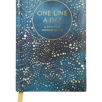 One Line a Day: A Five-Year Memory Book   Nordstrom