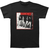 Ramones Men's  Rocket To Russia T-shirt Black