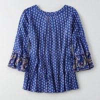 AEO TIERED BABYDOLL SHIRT
