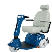 Fusion Heavy Duty 3-Wheel 450, 500 - PaceSaver 3-Wheel Full Size Scooters   TopMobility.com