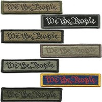 """BuckUp Tactical Morale Patch Hook We The People Morale Patches 3.75x1"""""""