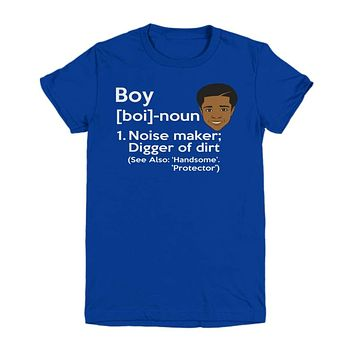 African American Boy Definition Shirt for Child