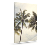 "Catherine McDonald ""Boho Palms"" Coastal Trees Canvas Art"
