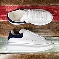 Alexander McQueen Classic white shoes-17