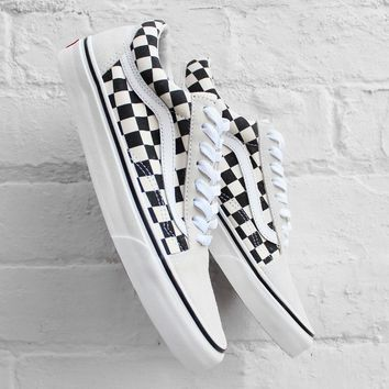Vans Old Skool Checkerboard White/Black Sneaker