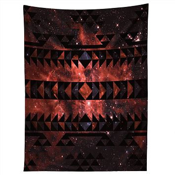 Caleb Troy Rusted Galaxy Tribal Tapestry