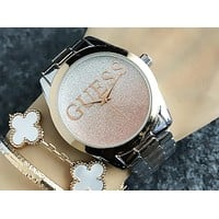 GUESS 2018 new waterproof fashion men and women couple watches F-H-JH 2
