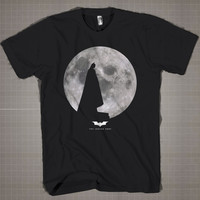 The Dark Knight Full Moon  Mens and Women T-Shirt Available Color Black And White