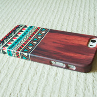 Aztec Wood Geometric Tribal iPhone Case Cover , iPhone 5s Case , iPhone 5 , iPhone 5c Case ,iPhone 4 ,iPhone 4s Case ,Samsung Galaxy S4 Case