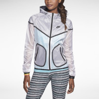 Nike Tech Windrunner Women's Jacket - White
