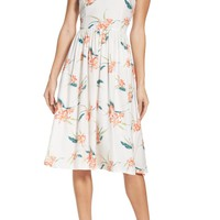 French Connection Bluhm & Botero Fit & Flare Dress | Nordstrom
