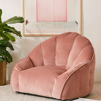 Cosette Velvet Lounge Chair | Urban Outfitters