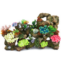Top Fin® Stone Coral with Coral and Plants