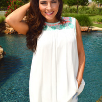 Cancun Embroidered Tunic