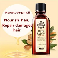 Hot LAIKOU  Haircare 100% PURE 60ml Morocco argan oil glycerol Nut oil Hairdressing hair care essential moroccan oil ZYH078