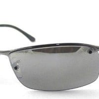 Ray Ban RB 3183 Top Bar Polarized Sunglasses with case