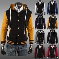Classics Hats Tops Men Slim Hoodies Jacket [6528649027]
