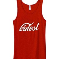 cutest Adult tank top men and women