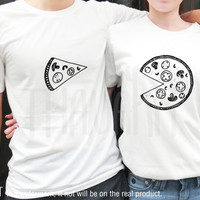 A Piece of Pizza and The All of You TShirt - Tee Shirt Tee Shirts Size - S M L XL 2XL 3XL