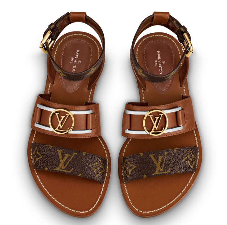 Image of louisvuitton LV Fashion casual flat sandals