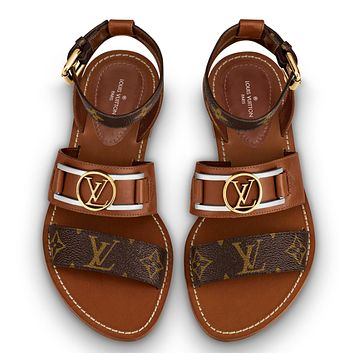 louisvuitton LV Fashion casual flat sandals