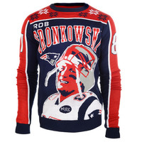 "Rob Gronkowski Official NFL ""Ugly Sweater"" by Klew (Will Ship In November)"