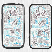 The Fault in Our Stars Samsung Galaxy S3 S4 Case,Galaxy S3 S4 Hard Rubber Case,cover skin Case for Galaxy S3 S4,More styles for you choose