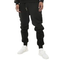 COD Luxed Up Quilted Jogger Sweat Pants Gold Detailing