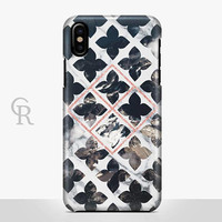 Marble Phone Case For iPhone 8 iPhone 8 Plus - iPhone X - iPhone 7 Plus - iPhone 6 - iPhone 6S - iPhone SE - Samsung S8 iPhone 5 Boho