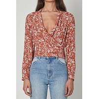 Bella Meadow Blouse Rosehip