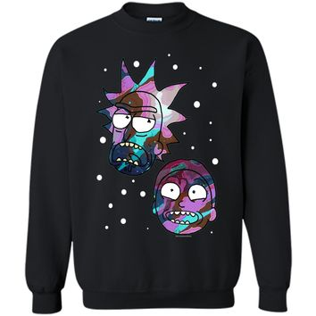 Rick & Morty Space Heads