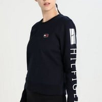 Tommy Jeans Fashion Long Sleeve Letters Pullover Sweatshirt Top Sweater-1
