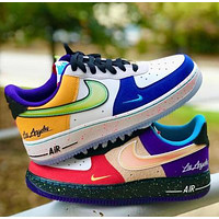 Onewel NIKE Air Force Fashion Women Men Casual Sport Running Shoes Sneakers