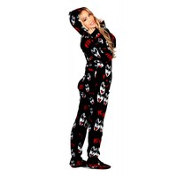 Buy KISS Dr. Love Drop Seat Onesuits   World's Best Pajama's