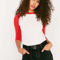 BDG Up To Bat Baseball Tee - Urban Outfitters